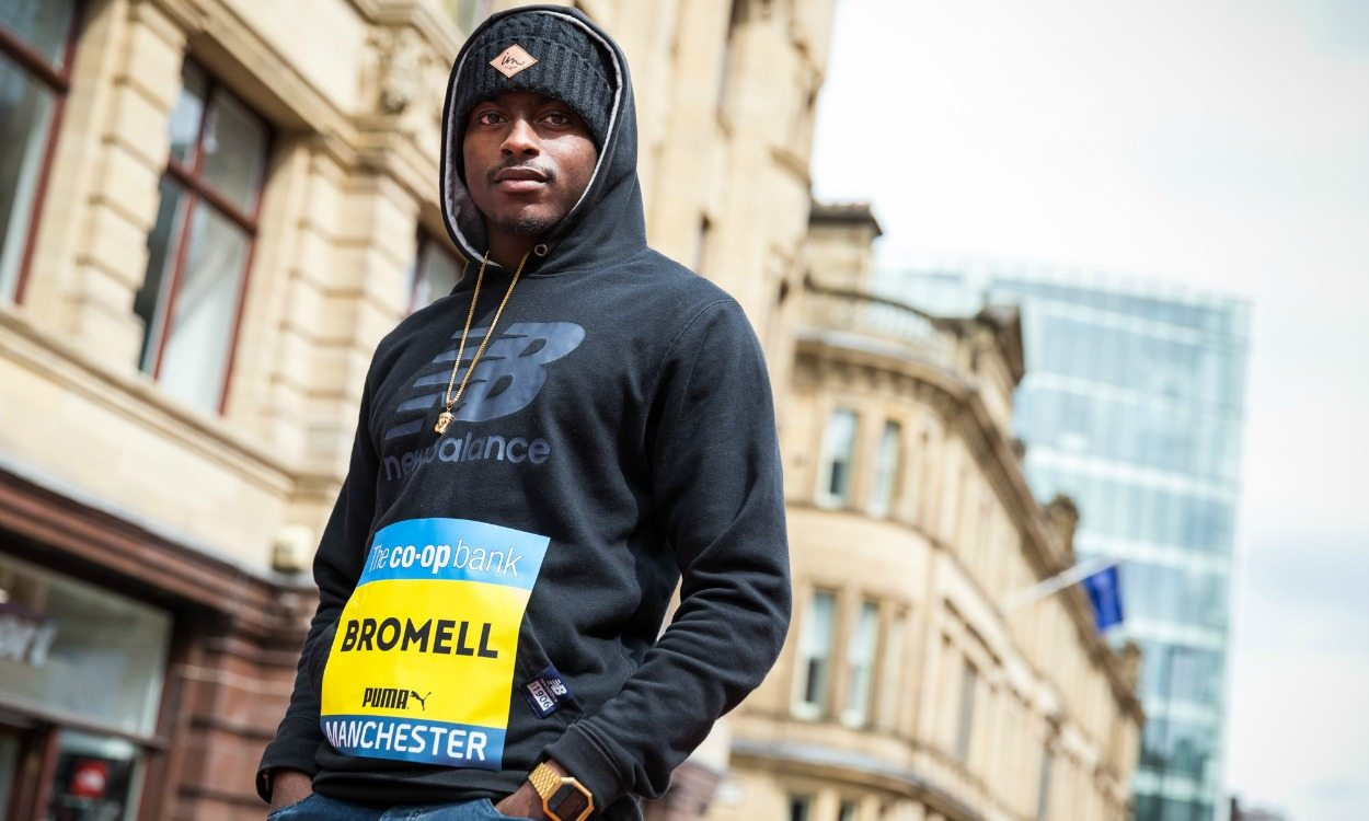 Trayvon Bromell, performing under pressure