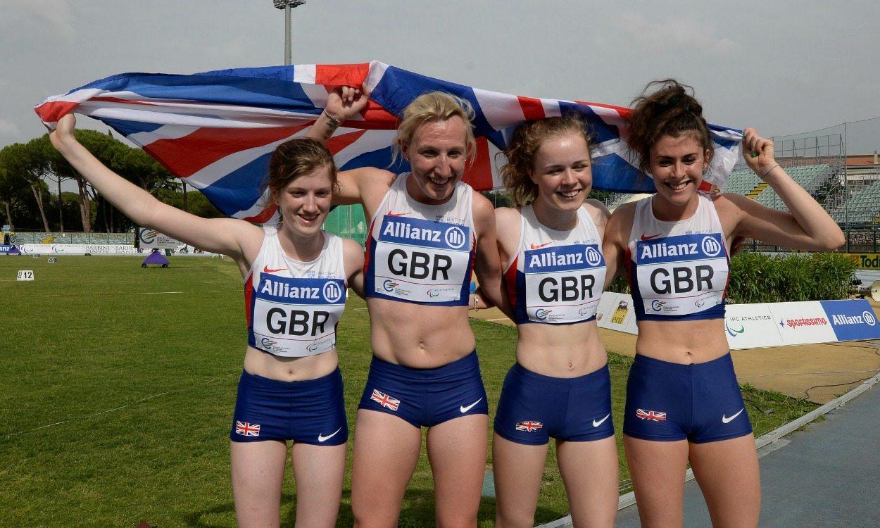 GB team claims record medal haul at IPC Athletics European Champs