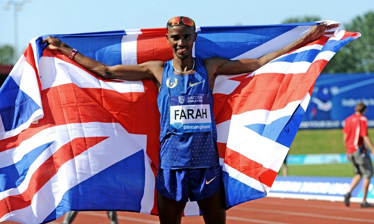 Mo Farah breaks British record at brilliant Birmingham meet