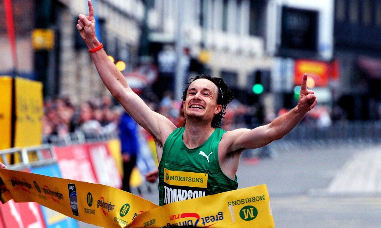 Chris Thompson and Sonia Samuels ready to race Great Birmingham Run