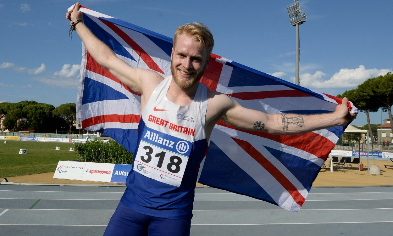 Jonnie Peacock among winners as GB gets seven more golds in Grosseto
