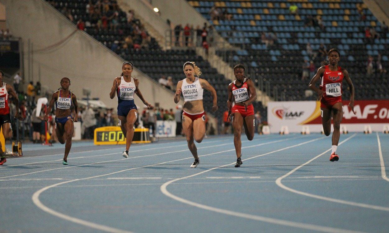 Candace Hill wins 100m title at World U20 Championships