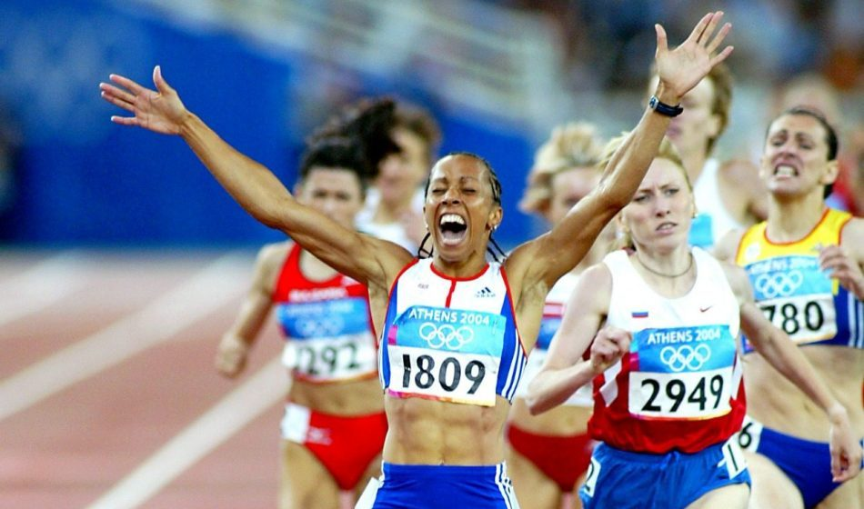From the AW archive: Kelly Holmes' Athens Olympic double