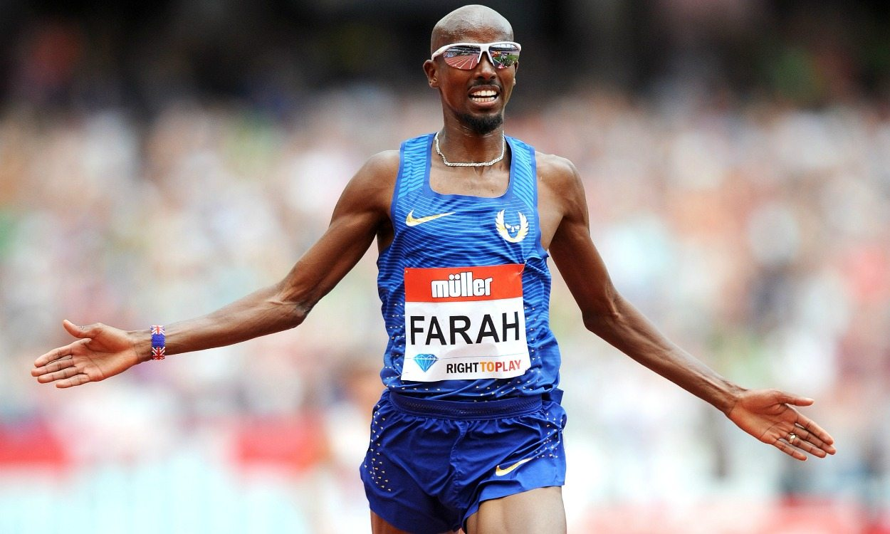 Mo Farah sets 5000m world lead in London