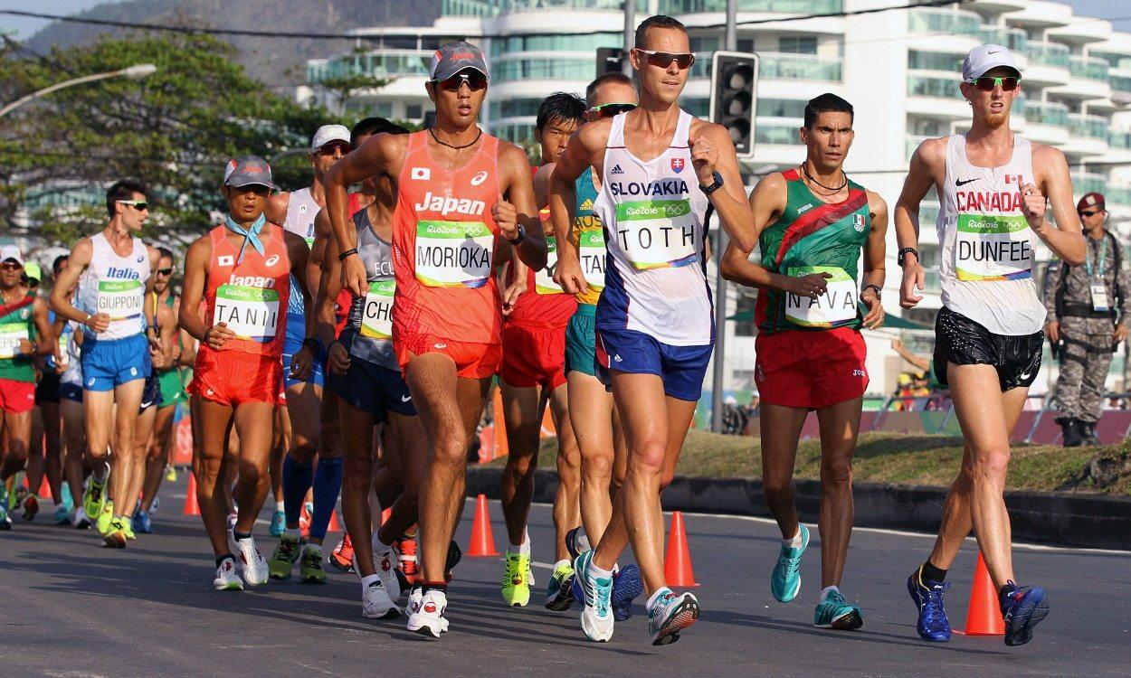 Matej Toth and Liu Hong win Olympic race walk gold
