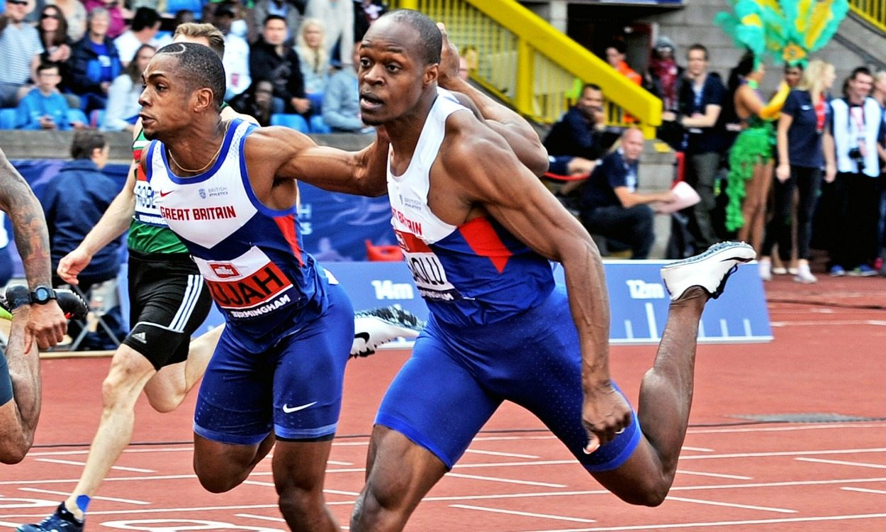 James Dasaolu feeling faster and stronger