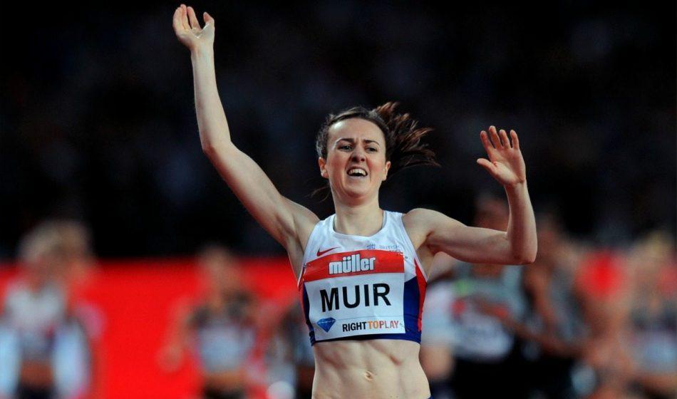 Laura Muir smashes European 3000m record in Karlsruhe