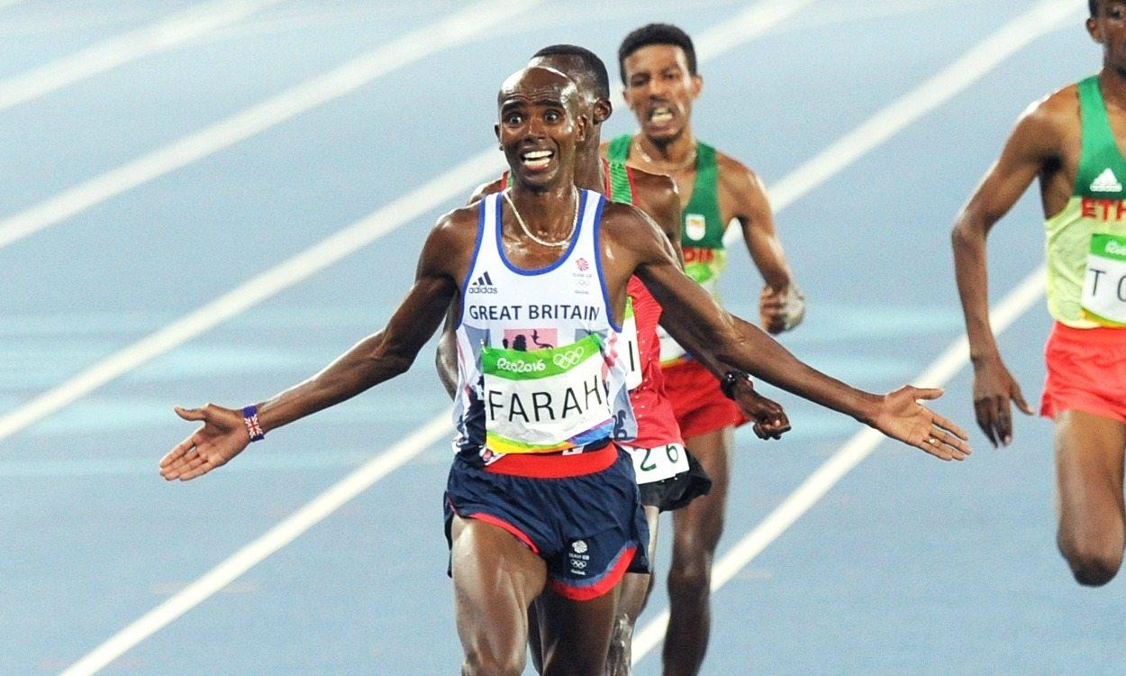 Mo Farah retains Olympic 10,000m title