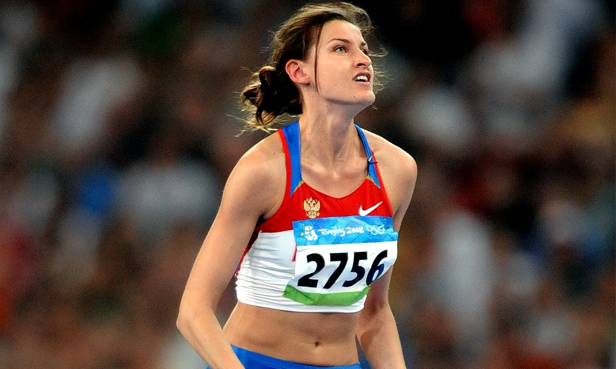 Anna Chicherova stripped of 2008 Olympic high jump bronze