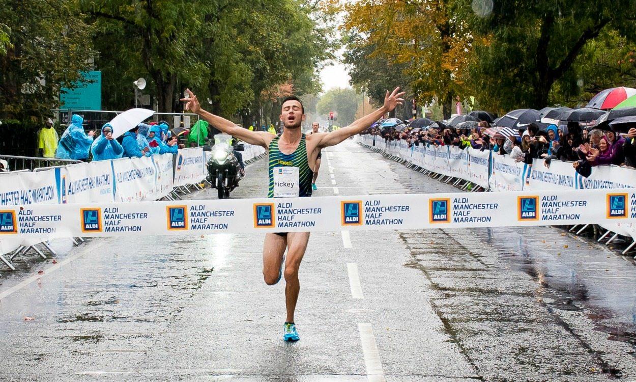 Adam Hickey wins Manchester Half Marathon – weekly round-up