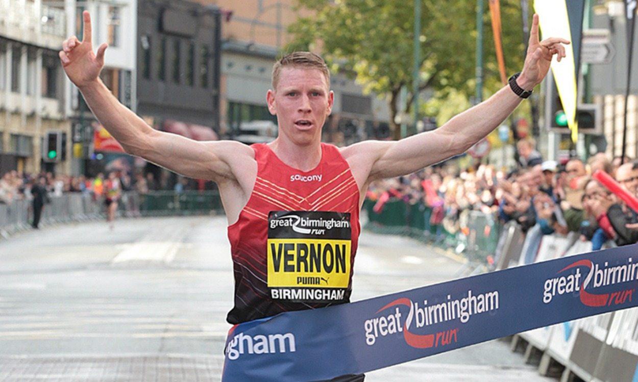 Andy Vernon wins Great Birmingham Run