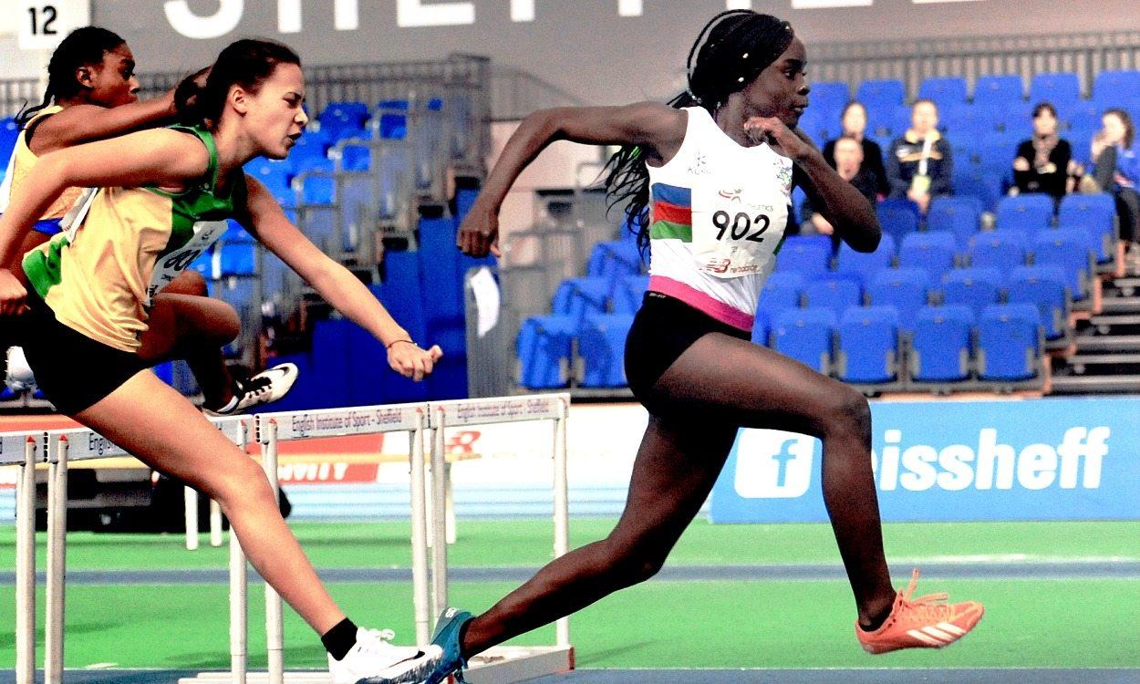 Hurdler Marcia Sey targets the top