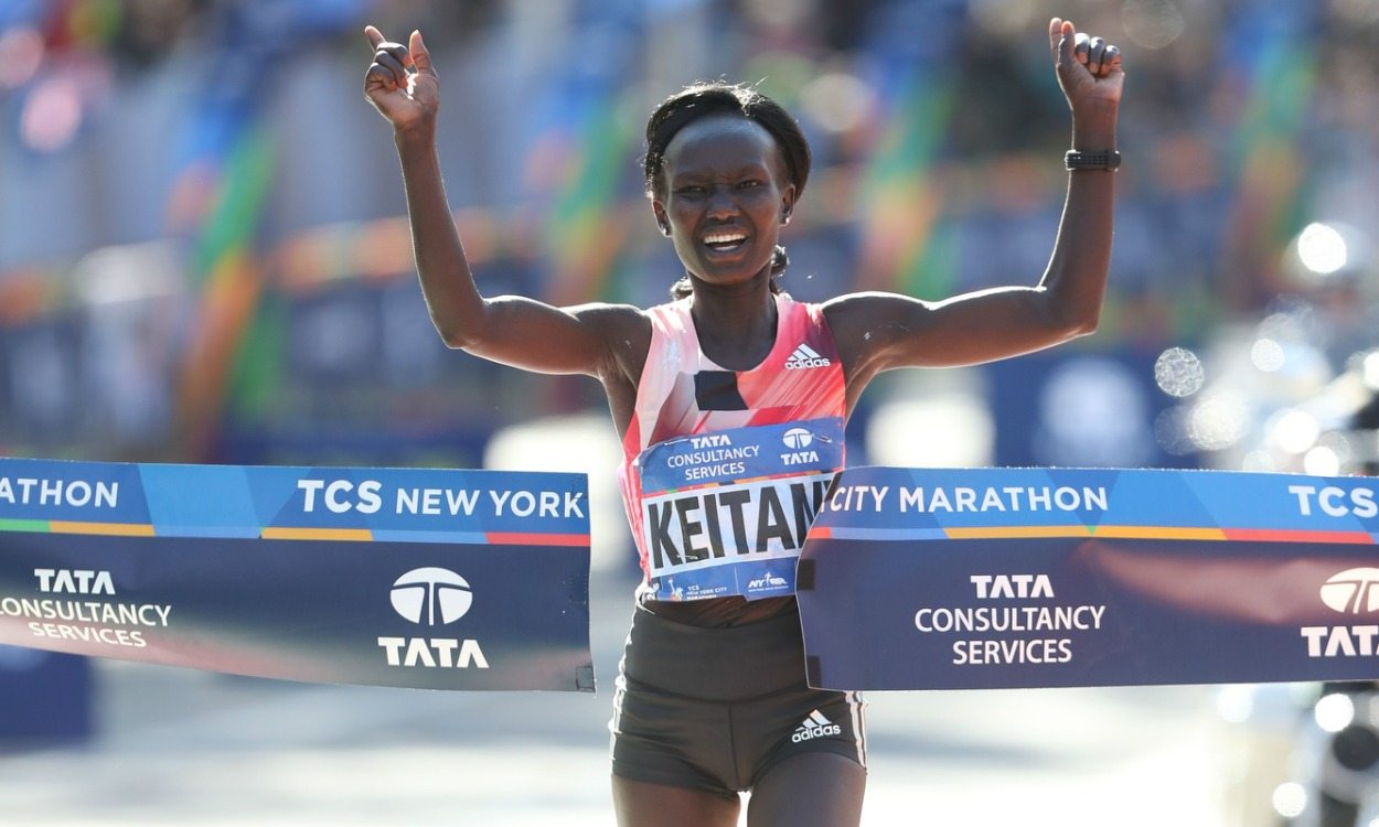 Mary Keitany and Ghirmay Ghebreslassie win New York City Marathon