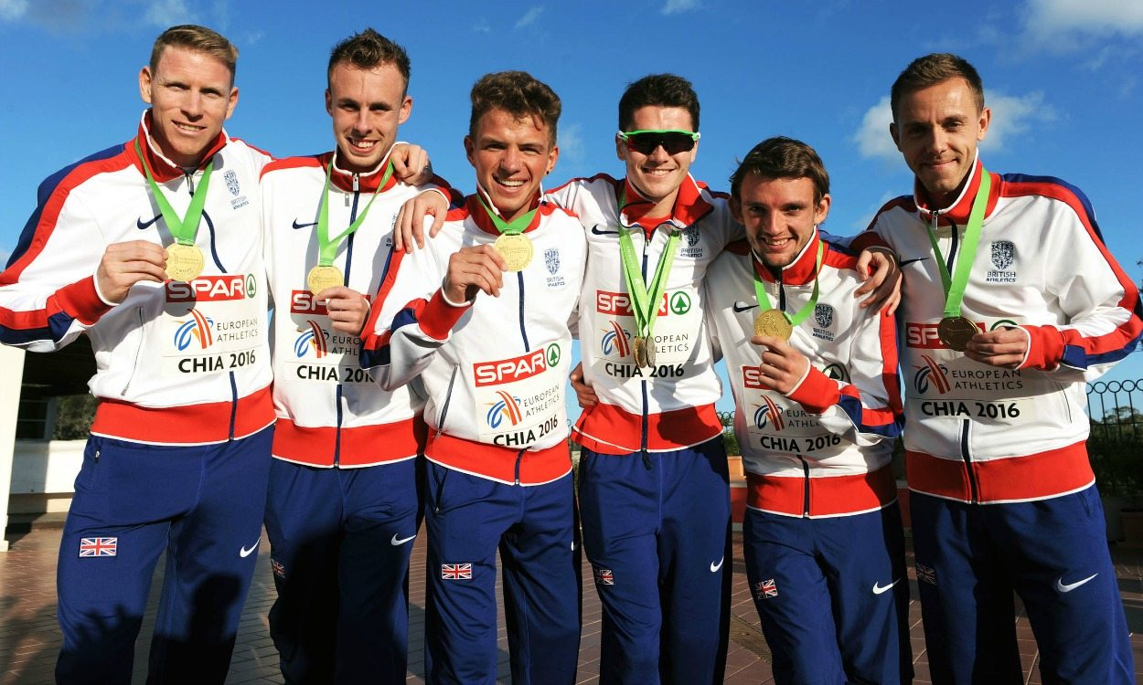 Team Euro Cross gold for GB's senior men as Callum Hawkins gains individual podium place