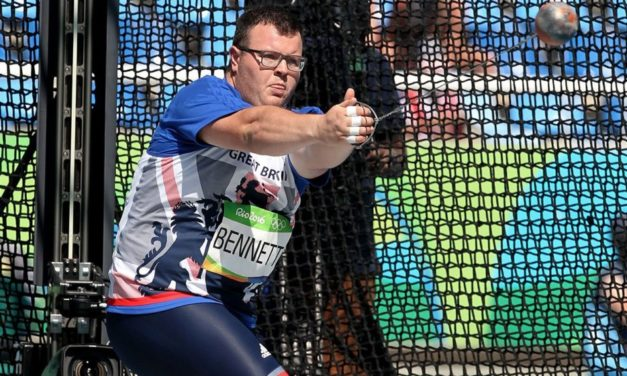 Rollercoaster 12 months for hammer thrower Chris Bennett