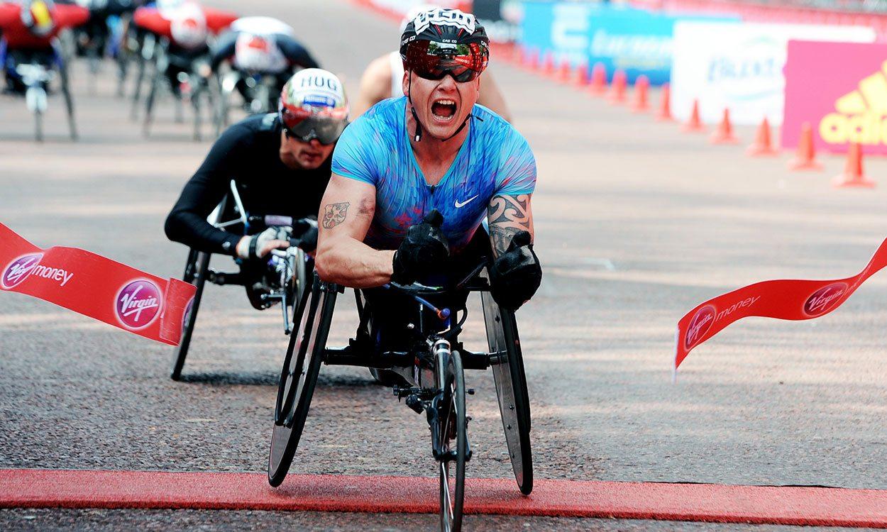 David Weir races to record seventh London Marathon title
