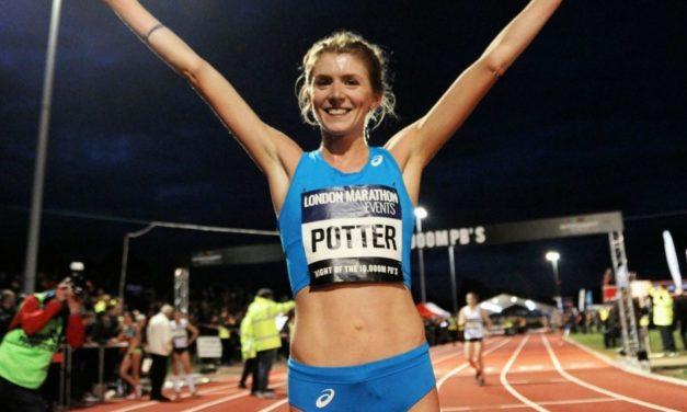 Beth Potter beats world record time at Podium 5km