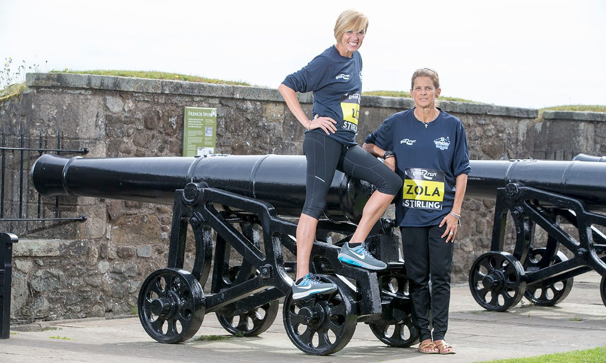 Liz McColgan and Zola Budd return to run in Scotland