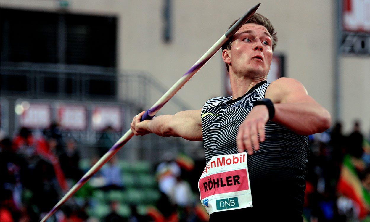 Thomas Röhler among athletes ready for Rome