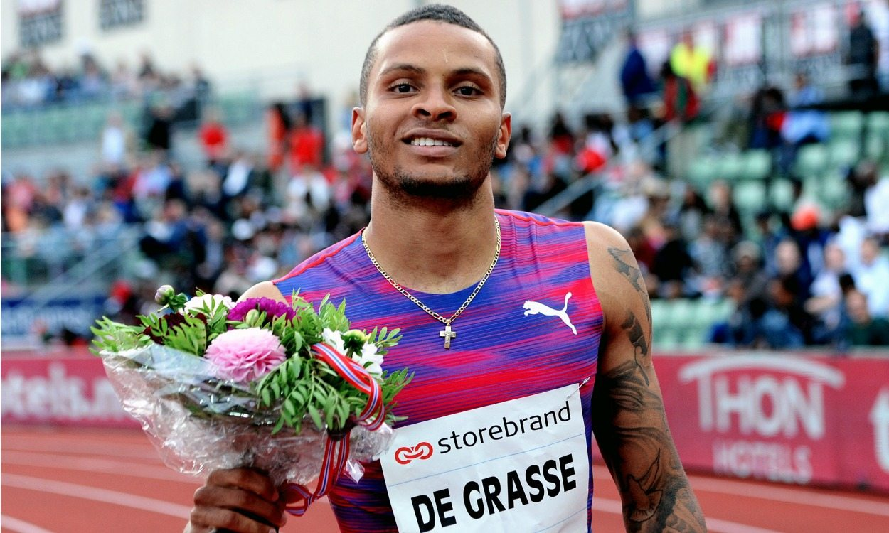 Andre De Grasse on carrying Canadian sprint hopes in Tokyo