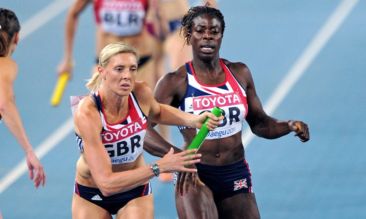 GB teams set for women's 4x400m world bronze from 2009 and 2011