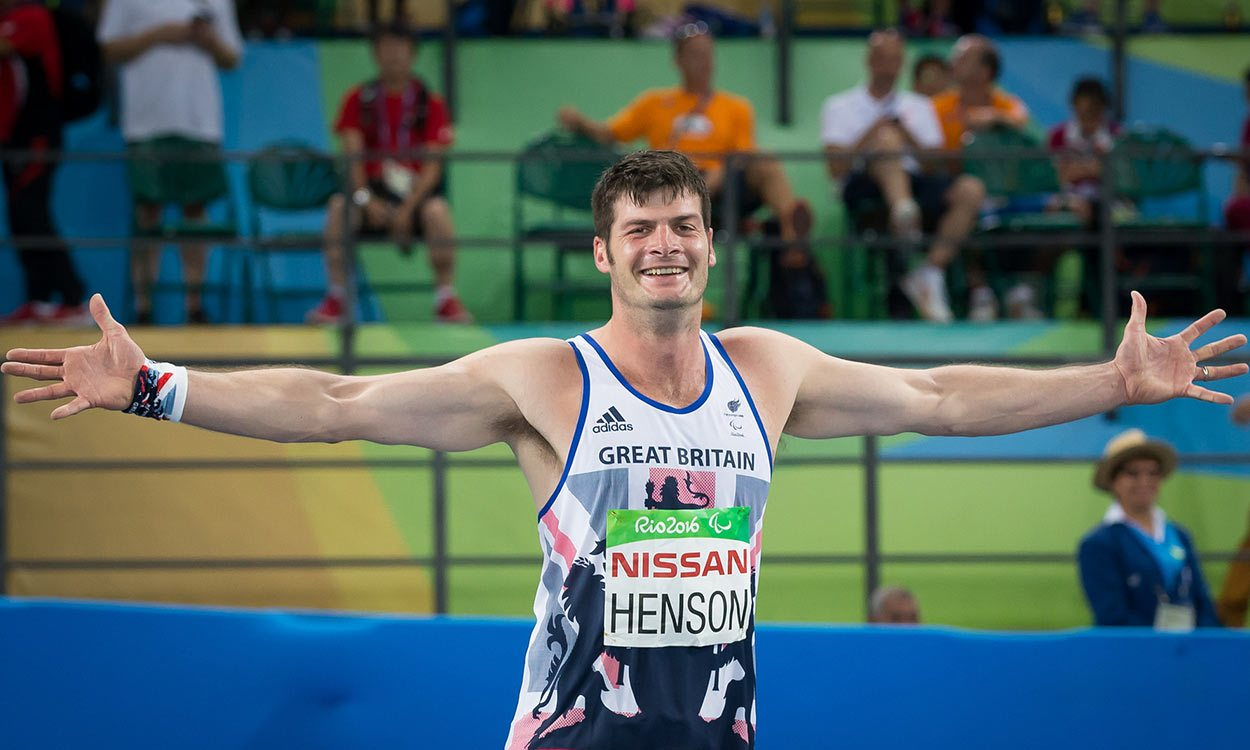 Paralympic experience pivotal for Dave Henson