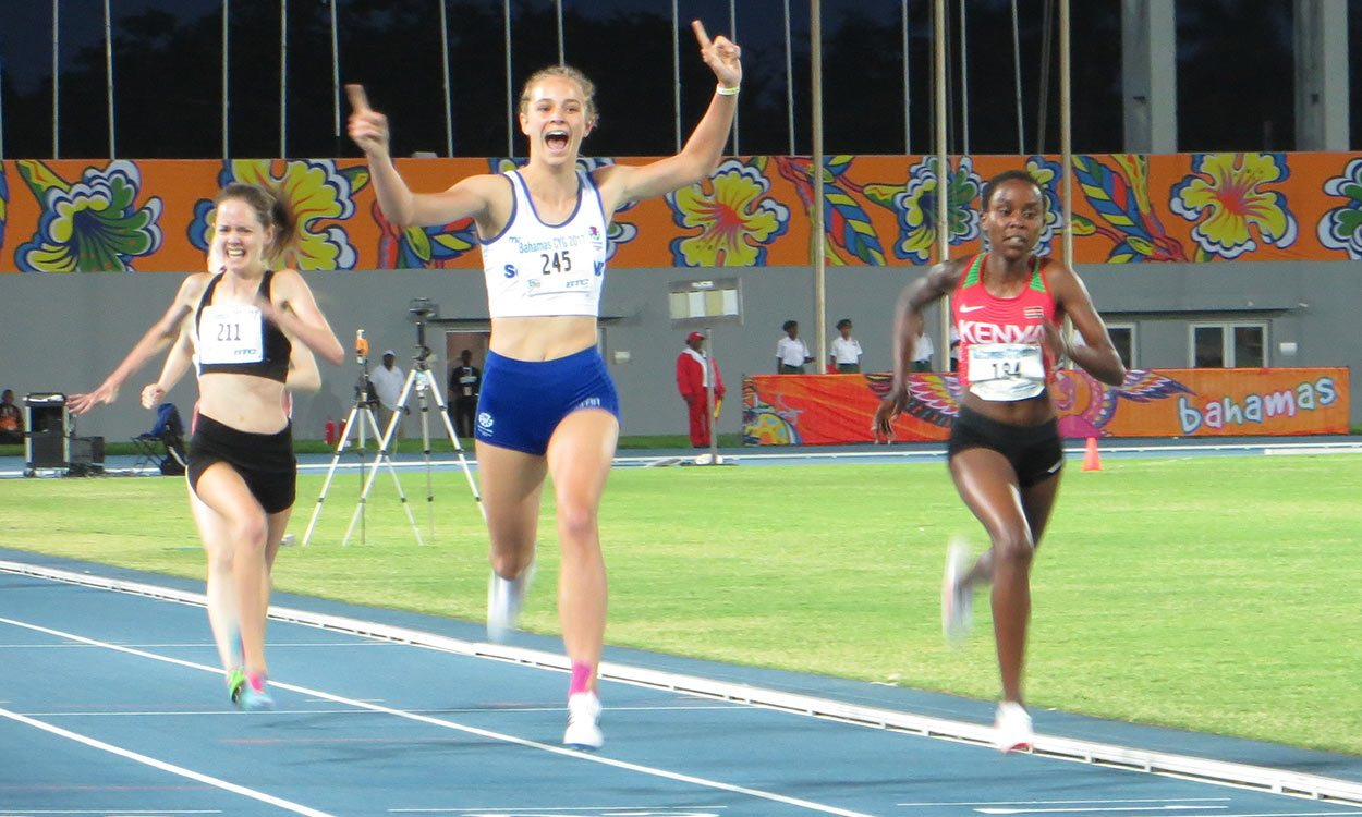 Erin Wallace and Holly Mills win gold at Commonwealth Youth Games