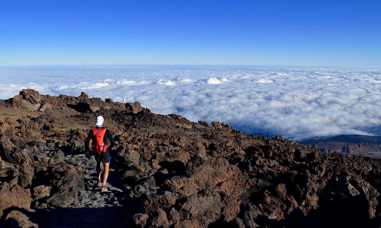 Sky racing: AW takes on the Tenerife Bluetrail