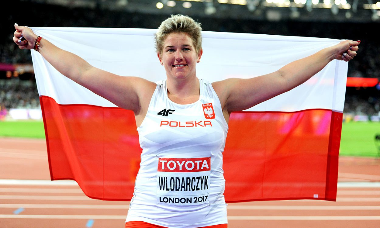 Anita Wlodarczyk maintains dominance for third world hammer title