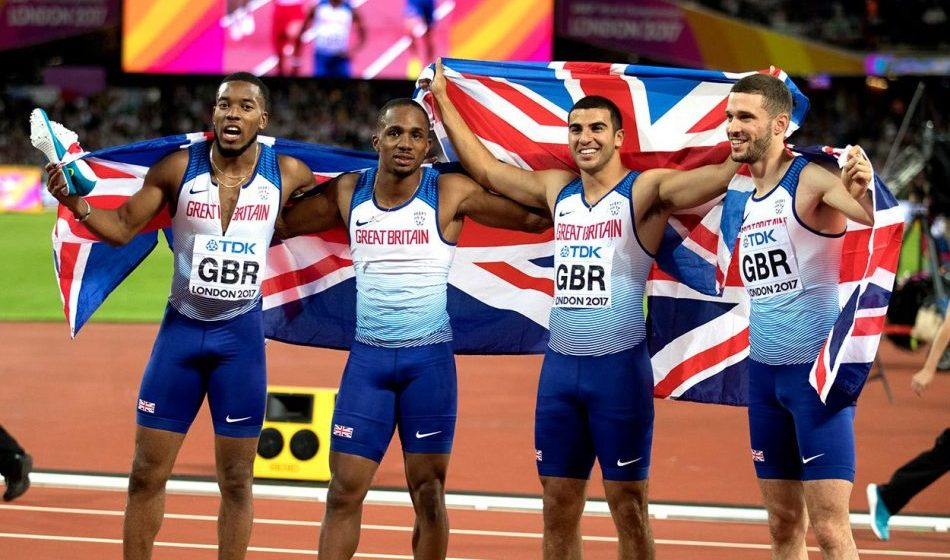 Behind the scenes of Great Britain's golden relay