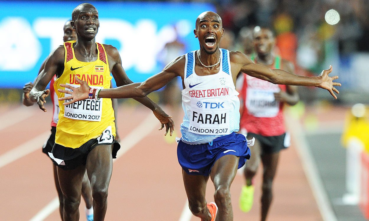 Mo Farah wins BBC sports personality of 2017
