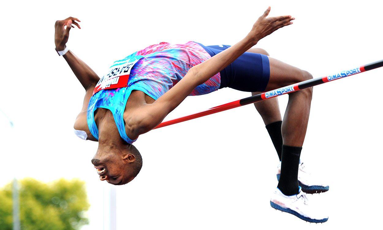 Mutaz Barshim leaps to world lead in Birmingham