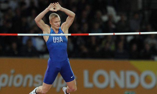 World champions: Sam Kendricks