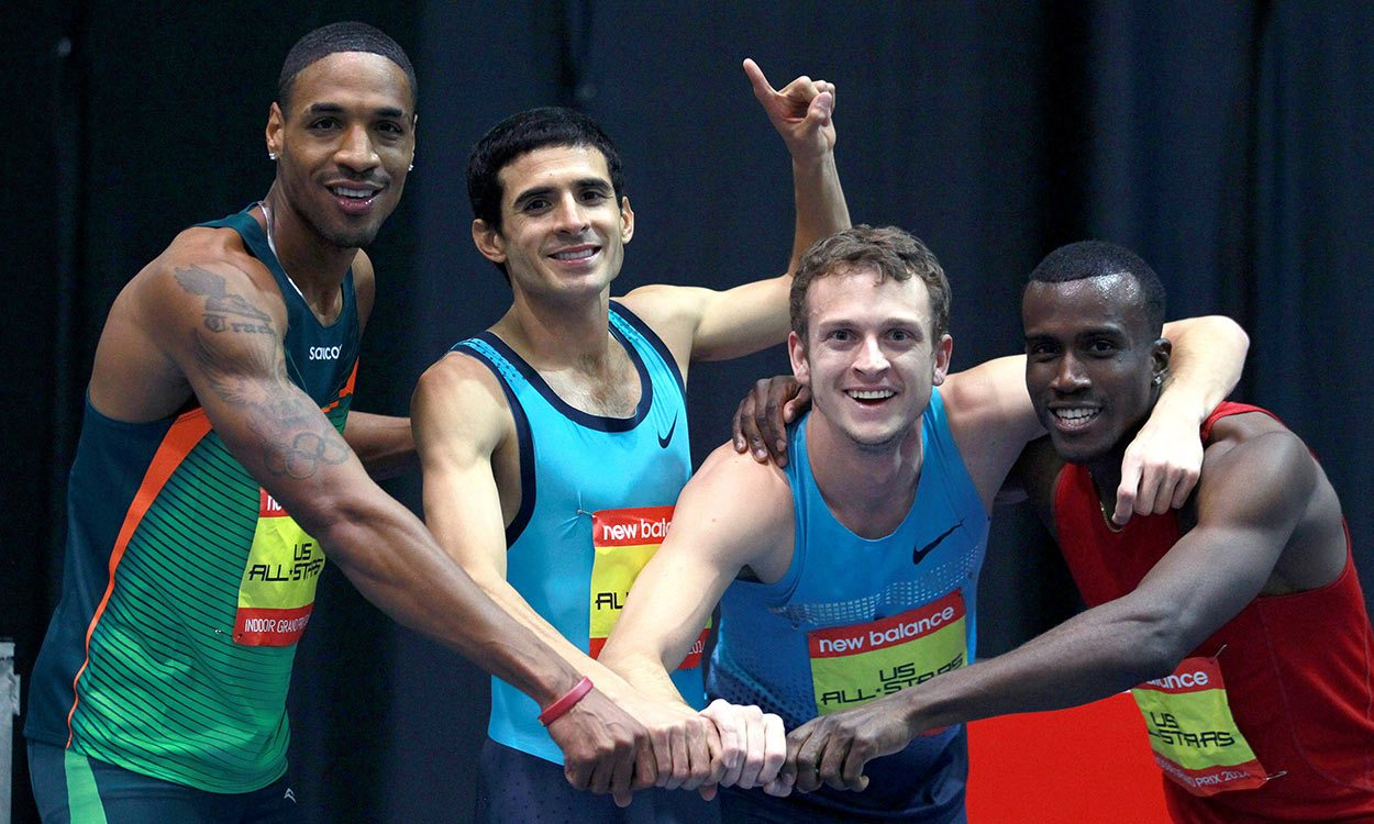 Athletes pay tribute to David Torrence