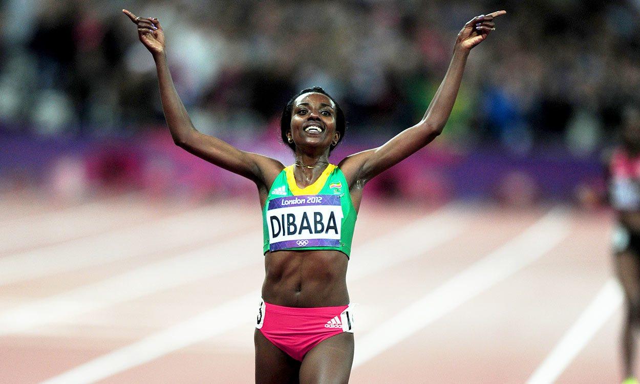 Watch Tirunesh Dibaba run