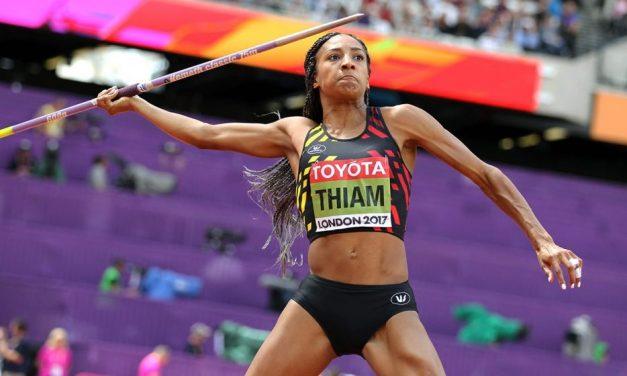 Nafi Thiam clear in World Championships heptathlon