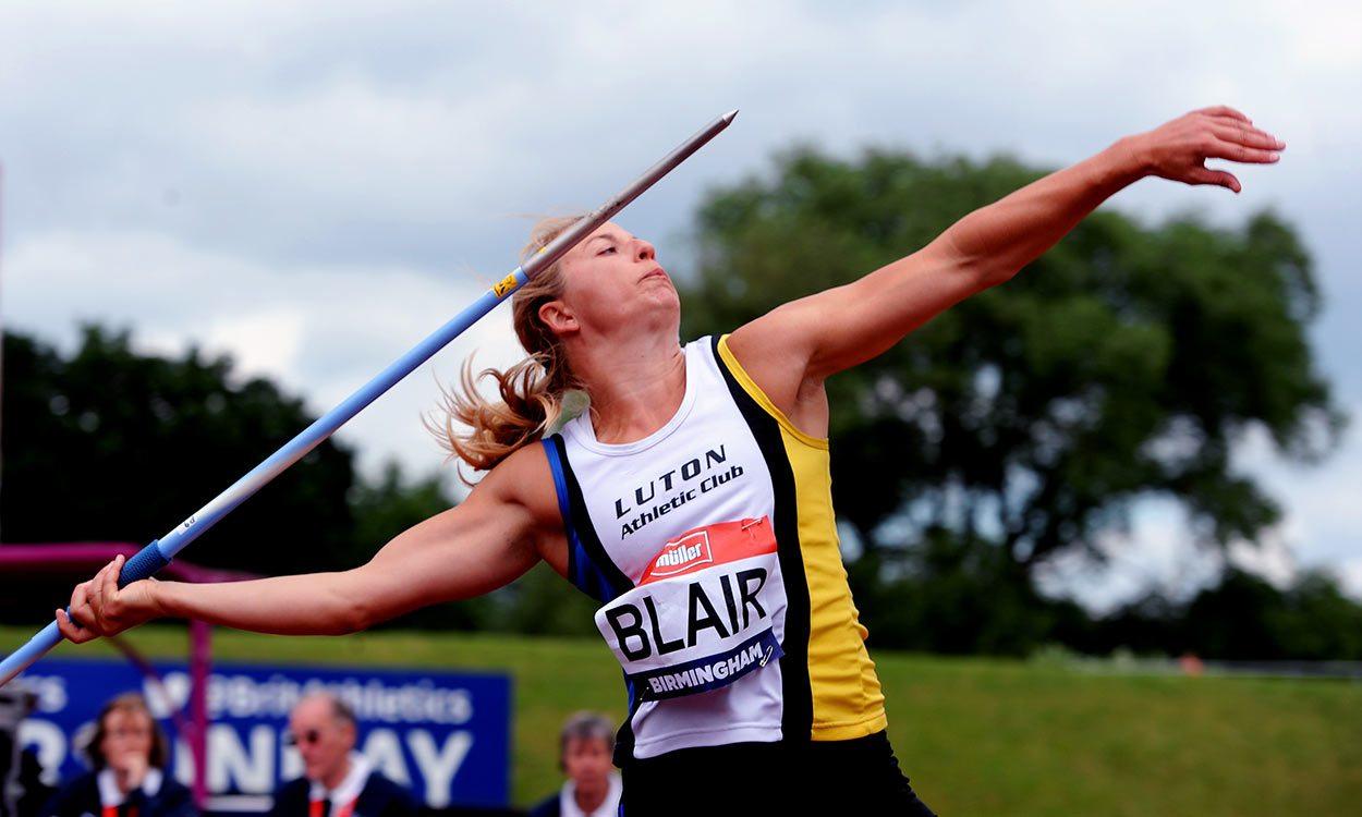 Javelin thrower Joanna Blair handed four-year ban
