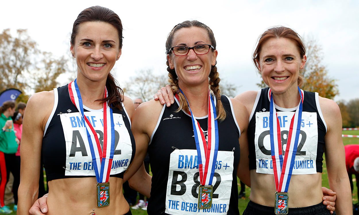 Quality races at British Masters Cross Country Relays