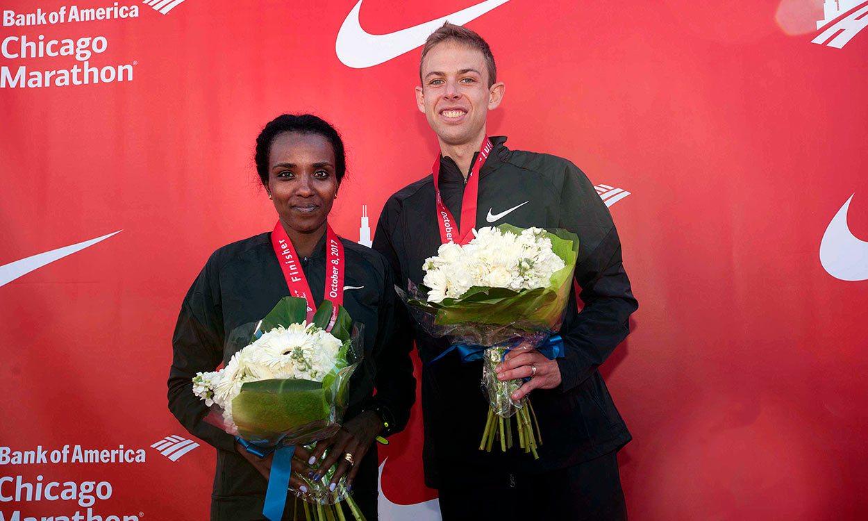 Galen Rupp and Tirunesh Dibaba win Chicago Marathon