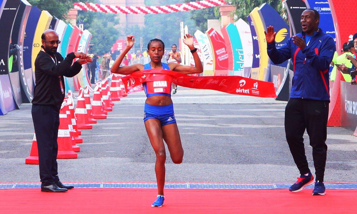 Almaz Ayana wins in Delhi on half-marathon debut – weekly round-up