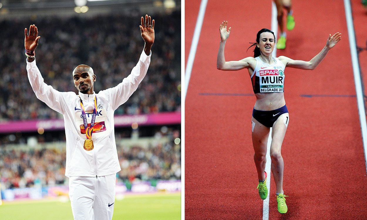 Mo Farah and Laura Muir earn BAWA awards