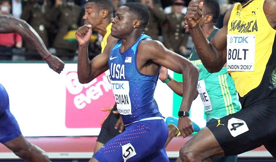 Christian Coleman wins sprint showdown in Rabat
