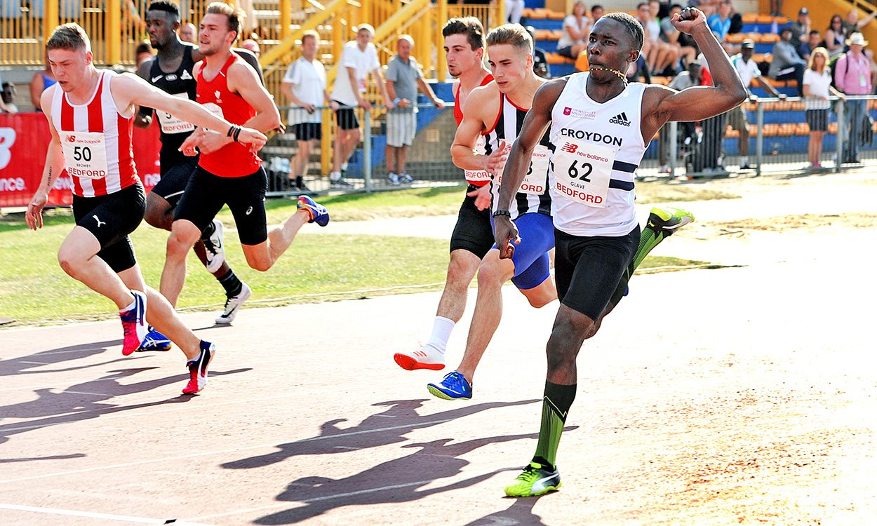Romell Glave's sprinting success