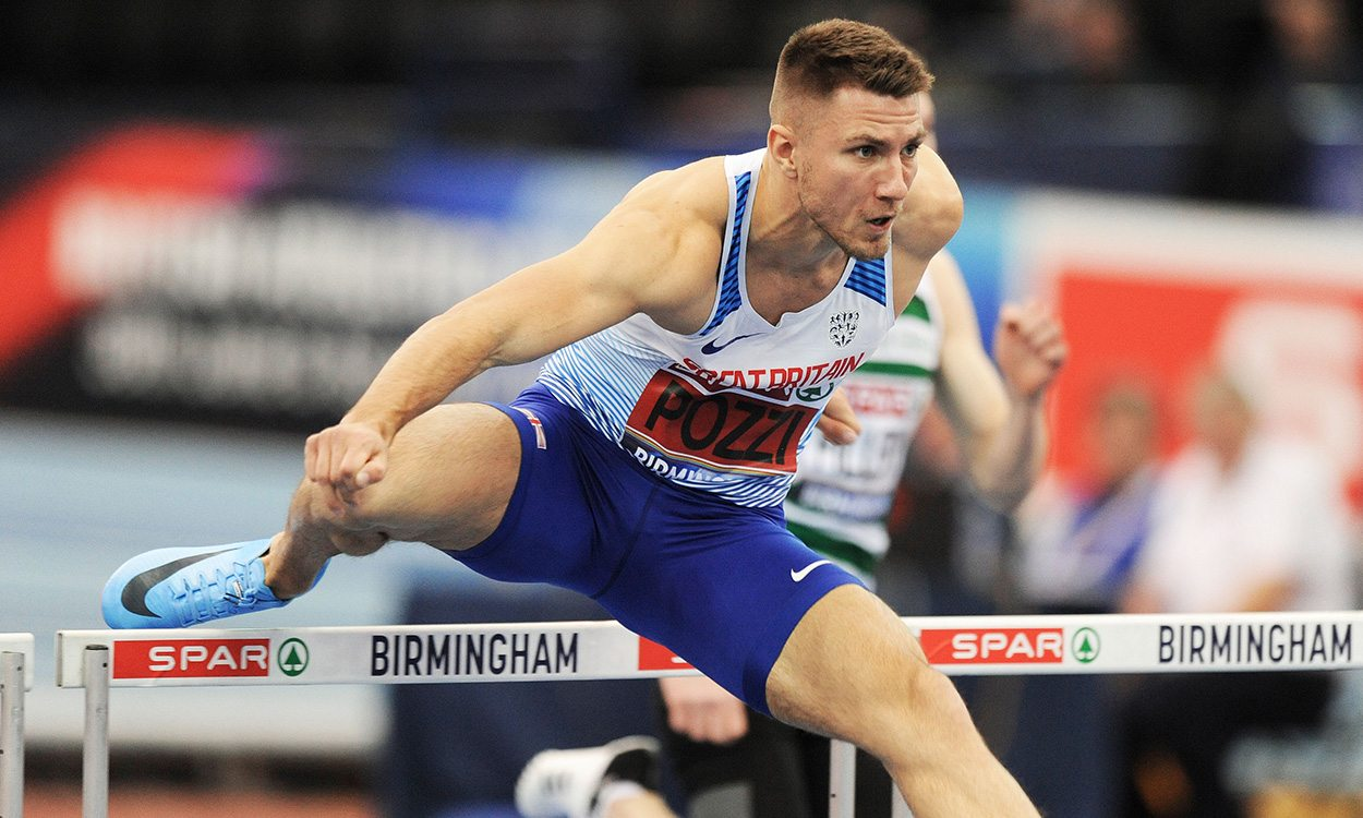 Andrew Pozzi and Shelayna Oskan-Clarke voted GB World Indoors captains