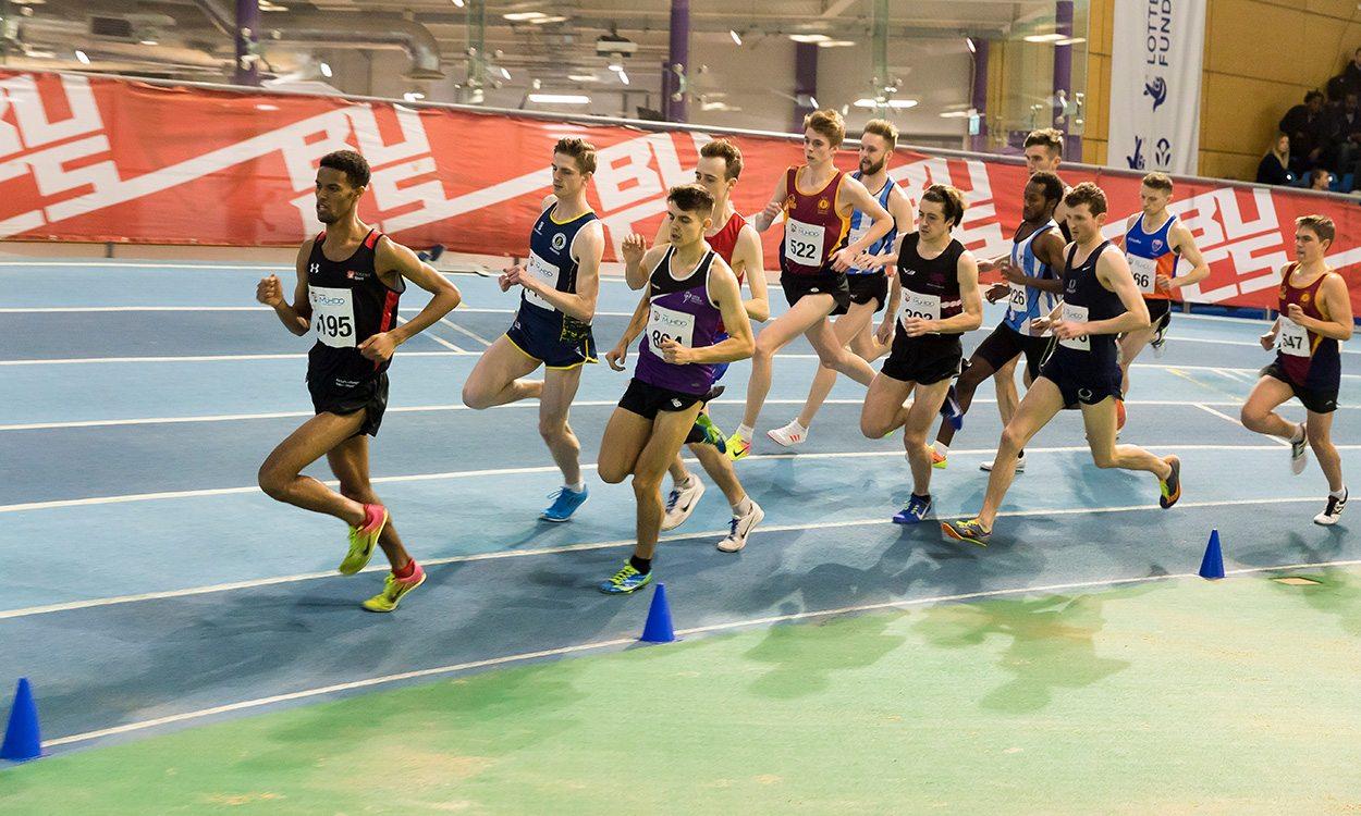 Student athletes shine at BUCS Indoor Championships