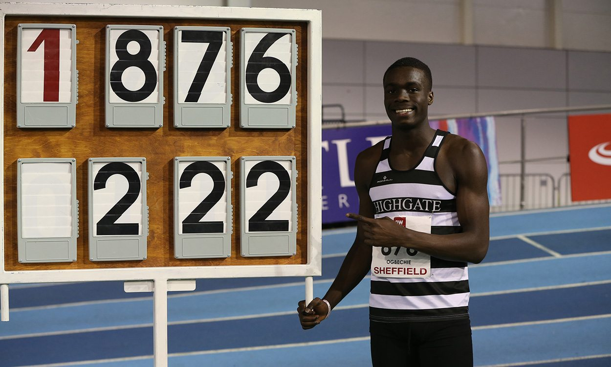 Dominic Ogbechie in record form in Sheffield – weekly round-up