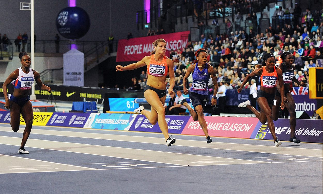 Glasgow welcomes world-class stars for Indoor Grand Prix