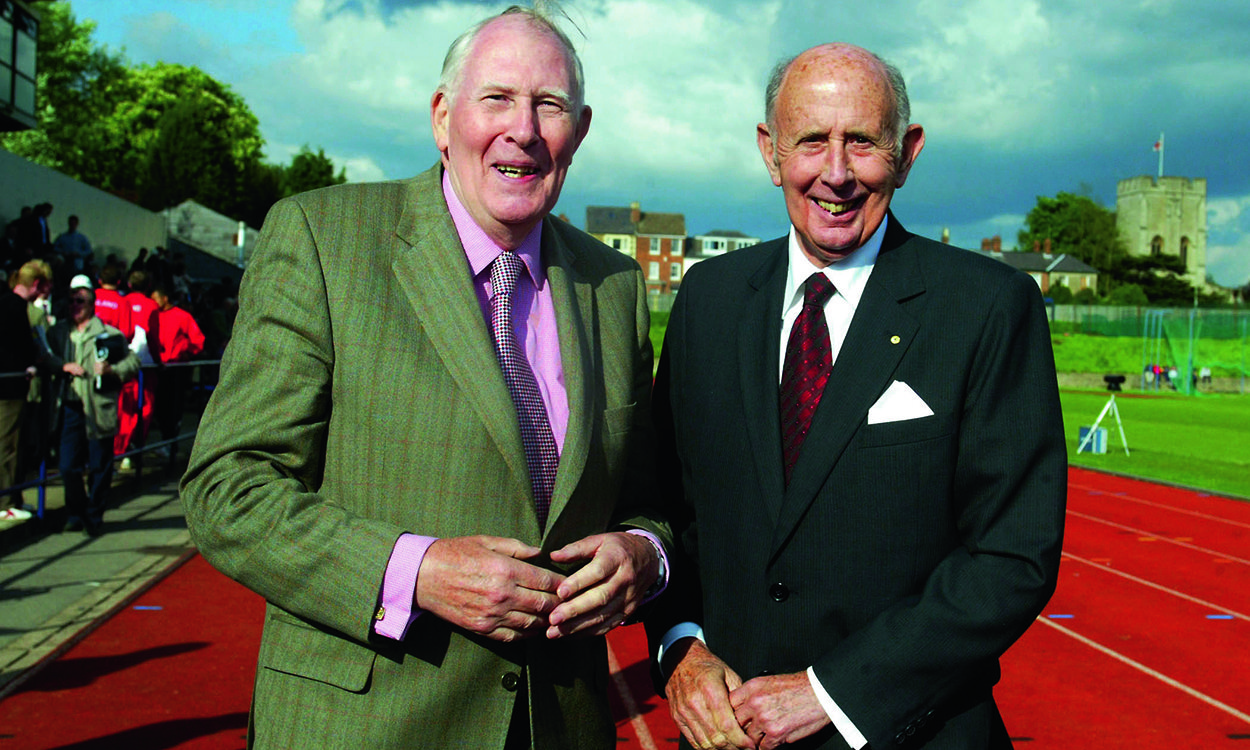 Tributes paid to Sir Roger Bannister