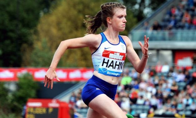 Sophie Hahn and Aled Davies lead gold rush in Berlin