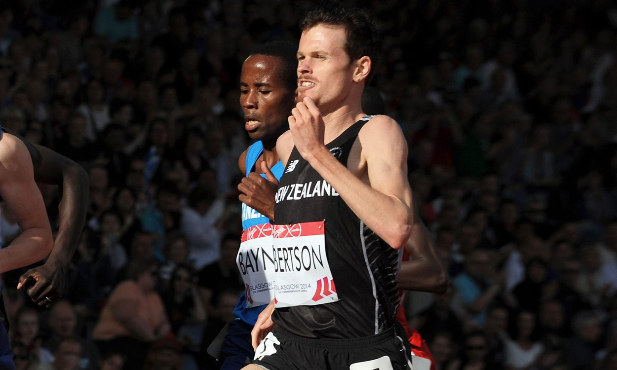 Zane Robertson: Training for Gold Coast glory